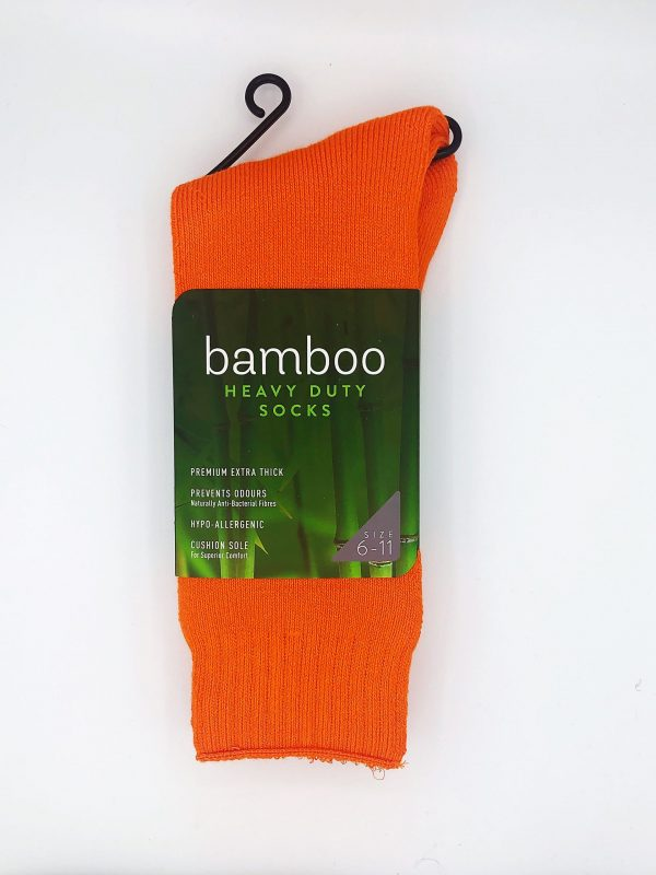 Bamboo Heavy Duty Socks – Various Colors