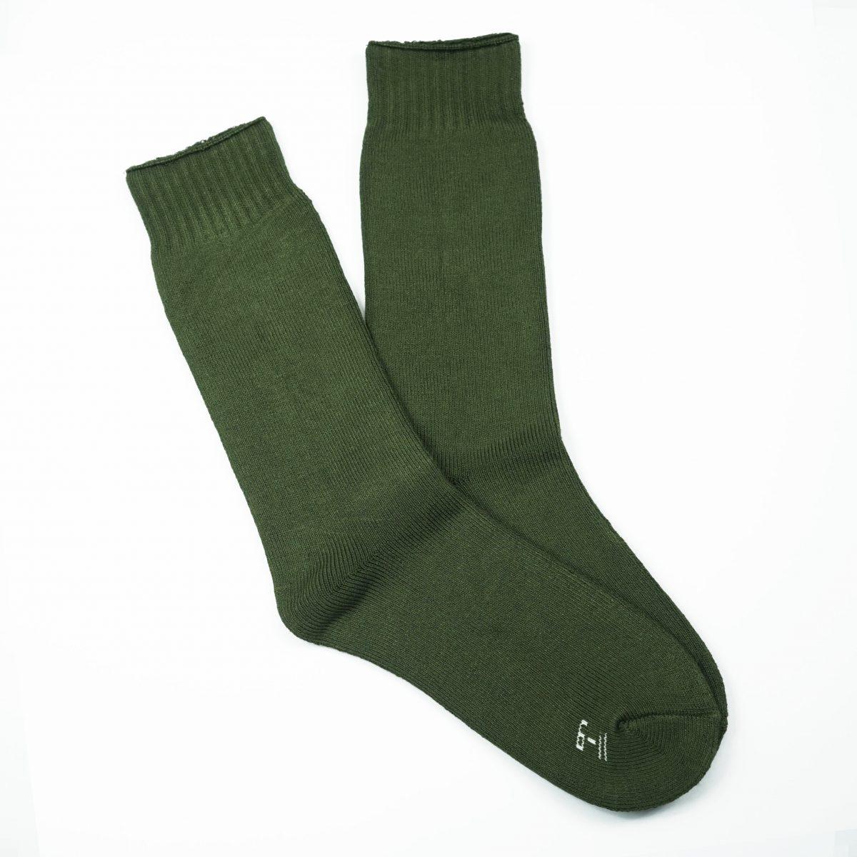 Bamboo Heavy Duty Socks - 3 Pairs Pack - Bottle Green