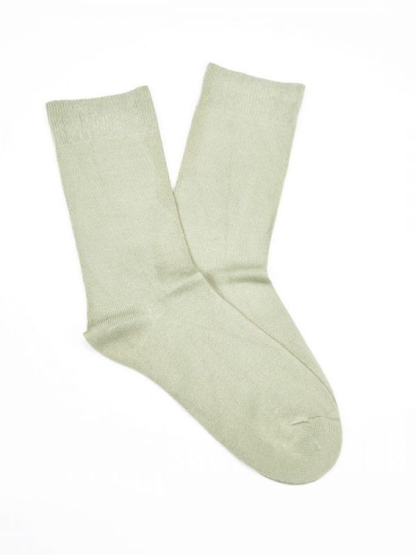 Bamboo Plain Business Socks – Beige