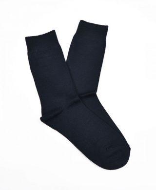 Bamboo Plain Business Socks – Navy