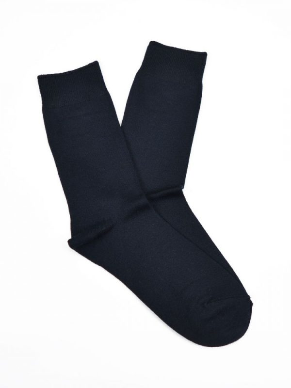 Bamboo Plain Business Socks – Navy