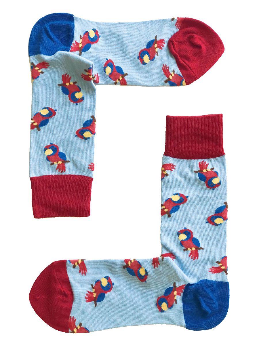 Cute Parrot Socks