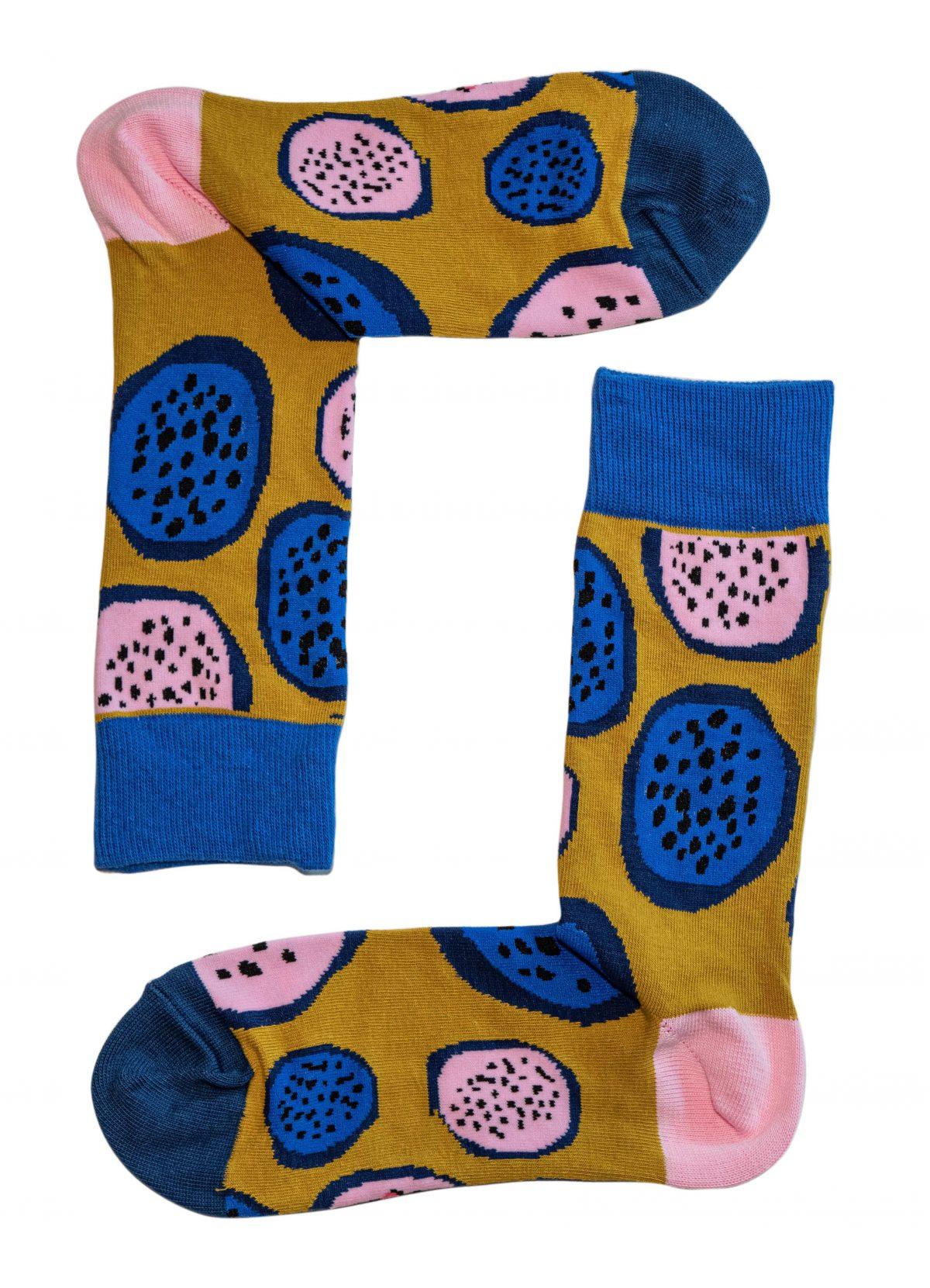 Dragon Fruit Socks 2