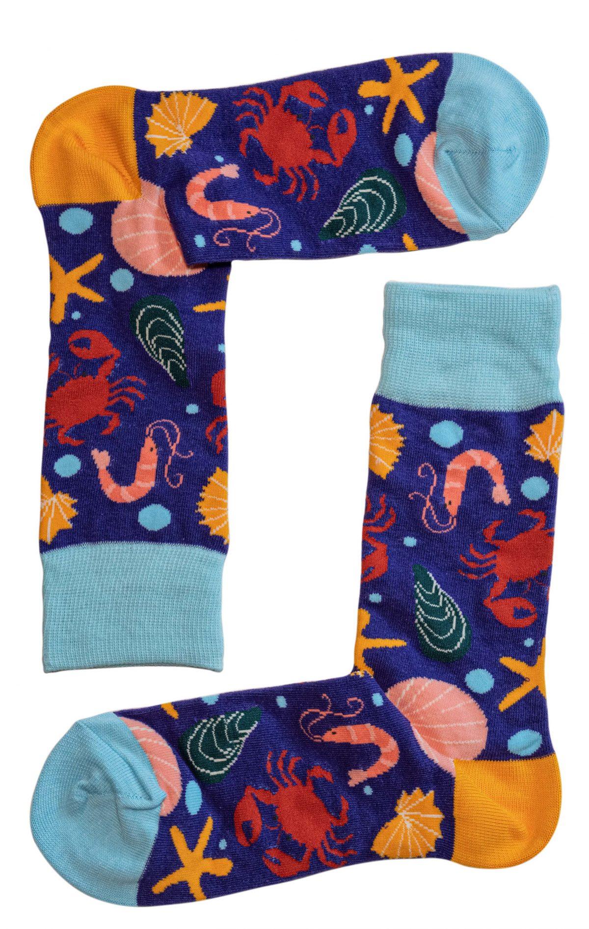Sea Creatures Socks