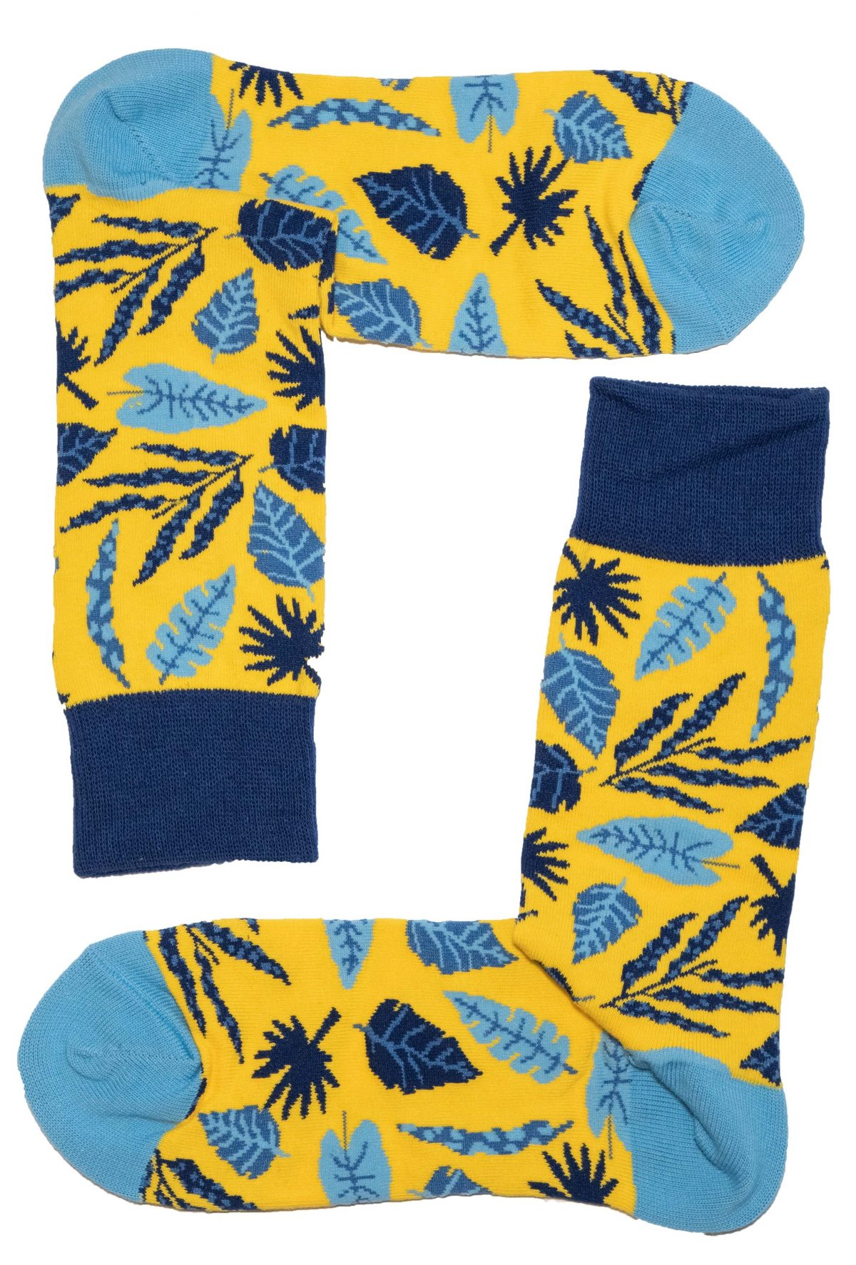 Tropical Leaves Socks